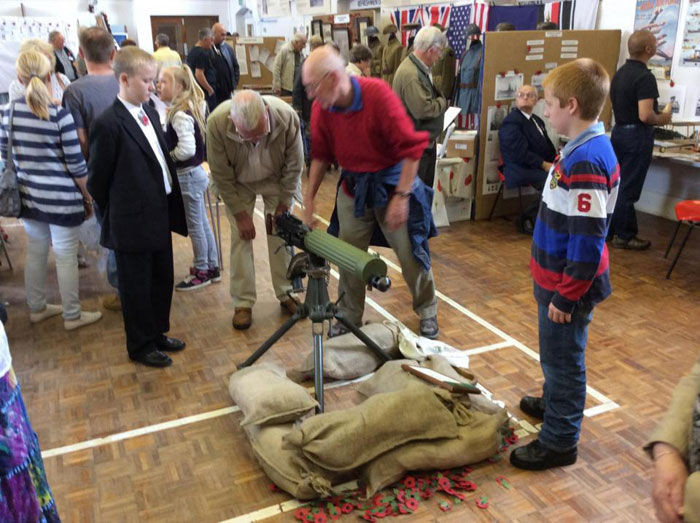 Horncastle's Great War - an exhibition including films, poetry and re-enactments
